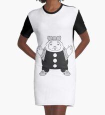 Big Eggart Graphic T-Shirt Dress