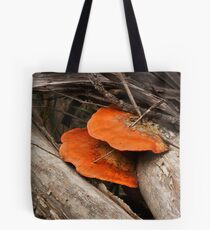 Speared Fungi Tote Bag