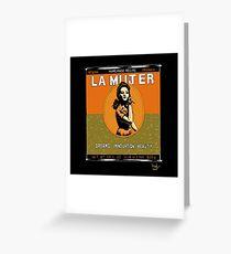 La Mujer : Jupiter by the Sea Greeting Card