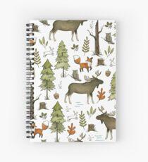 Cuaderno de espiral Paseos por el bosque