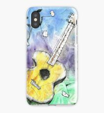 Guitar Notes iPhone Case/Skin