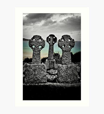 The Three Celts Art Print