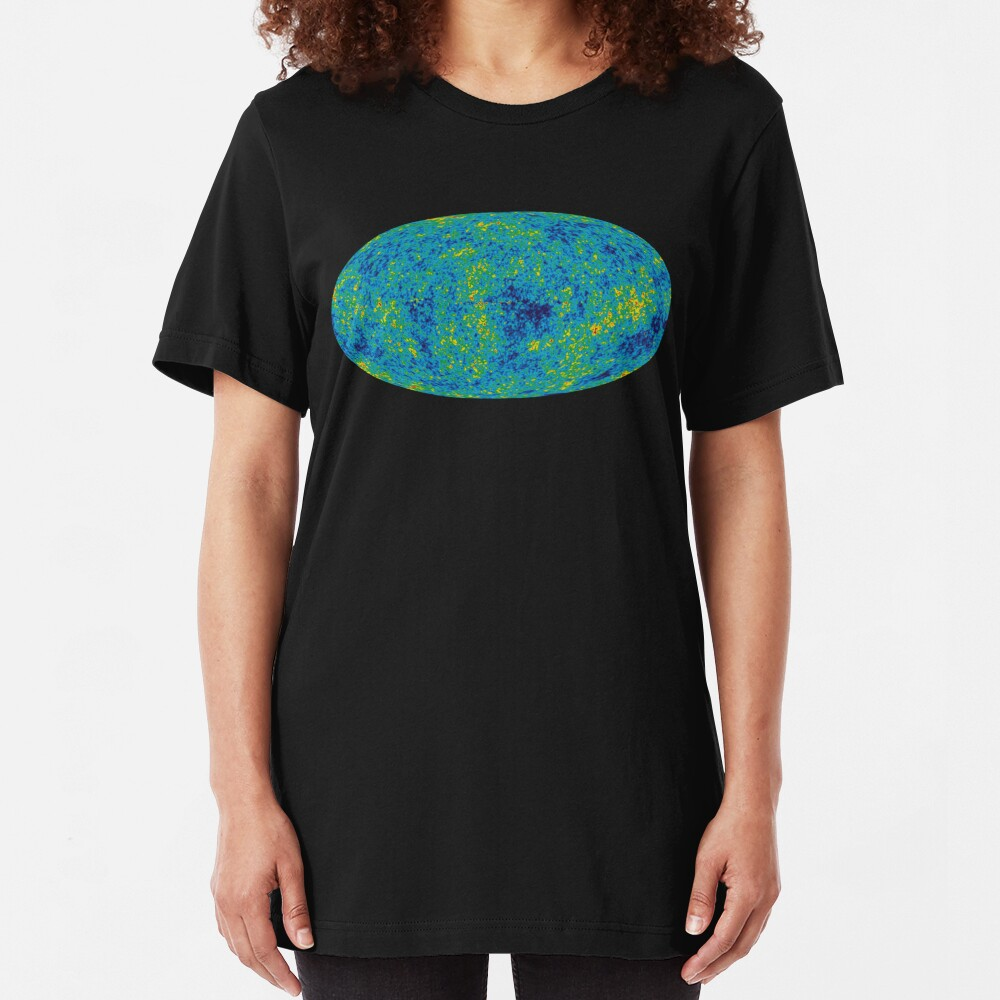 A microwave view of the Universe Slim Fit T-Shirt