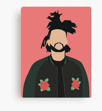 The Weeknd Minimal Art Poster Canvas Print