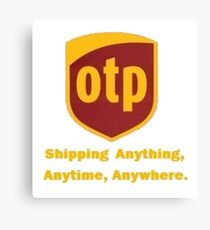 OTP Shipping Canvas Print