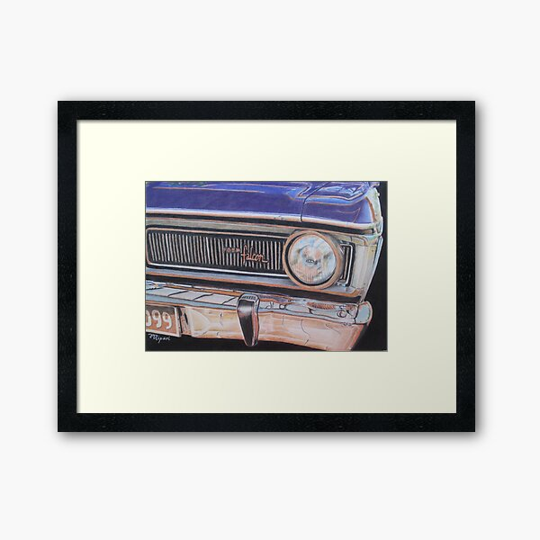 Dad's Beast Framed Art Print