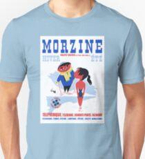 1960 Morzine France Resort Travel Poster T-Shirt