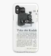 1920s Kodak Autographic iPhone Case