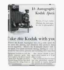 1920s Kodak Autographic iPad Case/Skin