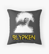 BLYPKEN - Gold Throw Pillow