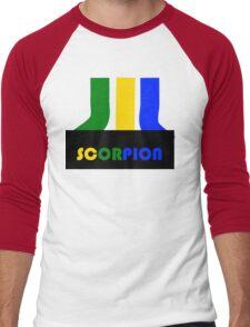 SCORPION (atari style)  Men's Baseball ¾ T-Shirt