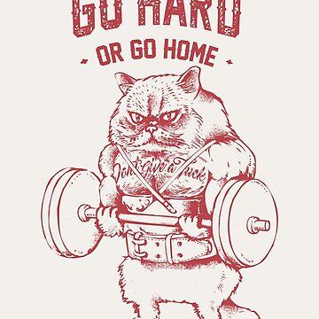 Vete fuerte o ve a casa Cat de Huebucket