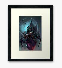 Morrigan, Darkstalkers Framed Print