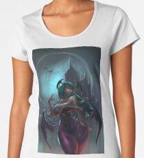 Morrigan, Darkstalkers Women's Premium T-Shirt