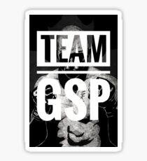 Team GSP (big print)  Sticker