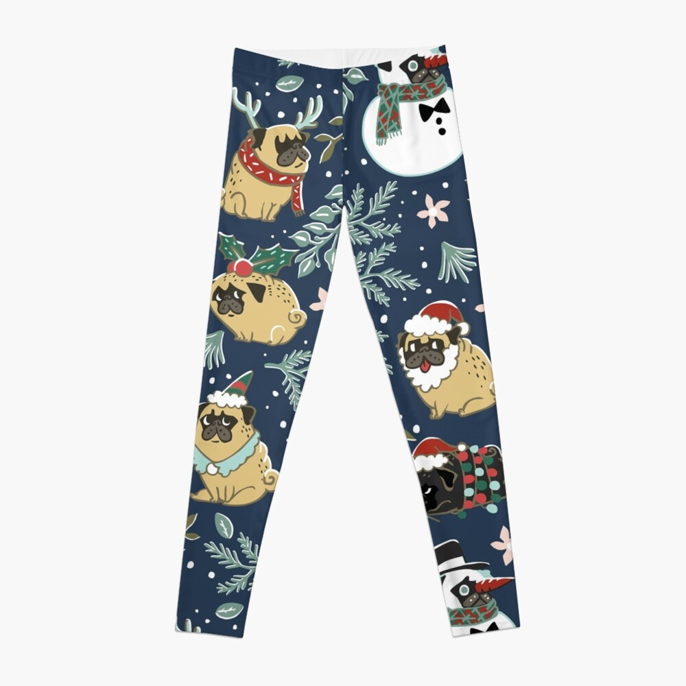 Weihnachtspugs Leggings