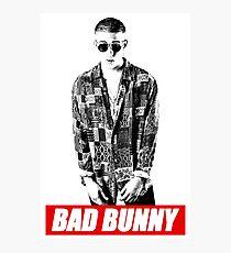 Bad Bunny Explain the Origin of Their Names Photographic Print