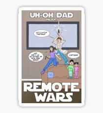Remote Wars Sticker