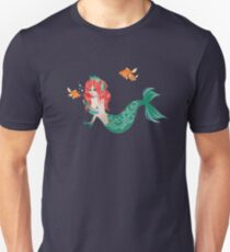 Red Haired Mermaid 2 T-Shirt