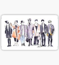 BTS Airport Fashion 171113 Sticker