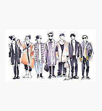 BTS Airport Fashion 171113 Photographic Print