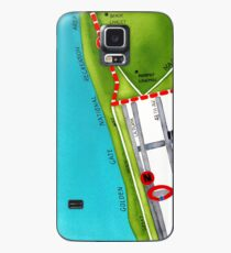 San Francisco map - Outer Sunset Case/Skin for Samsung Galaxy