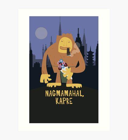 Nagmamahal, Kapre  Art Print