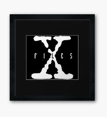 X-Files Logo Framed Print