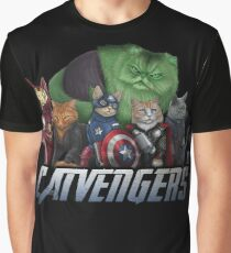 The Catvengers Graphic T-Shirt