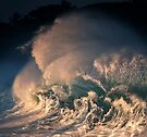 Winter Waves At Waimea Bay 17 by Alex Preiss