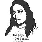 Paramahansa Yogananda - OM Joy by art-by-angels