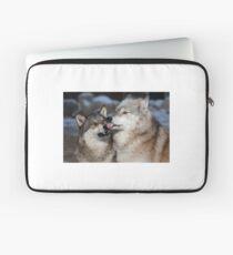 Derpy Wolves Laptop Sleeve