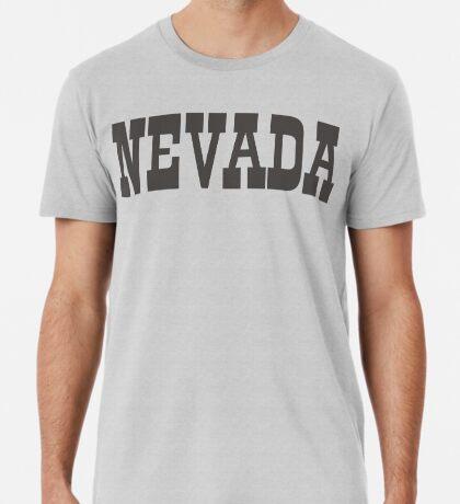 States Of Nevada Western Style  Premium T-Shirt