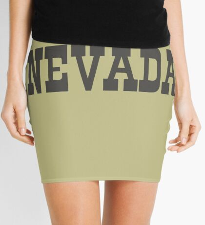 States Of Nevada Western Style  Mini Skirt