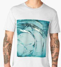 Ice texture 9 Men's Premium T-Shirt