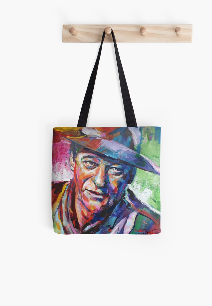 John Wayne by Jos Coufreur