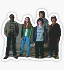 Stranger Things: Steve & Kids Sticker