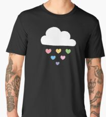 Raining hearts Men's Premium T-Shirt