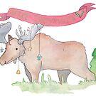 Merry Christmoose by pokegirl93