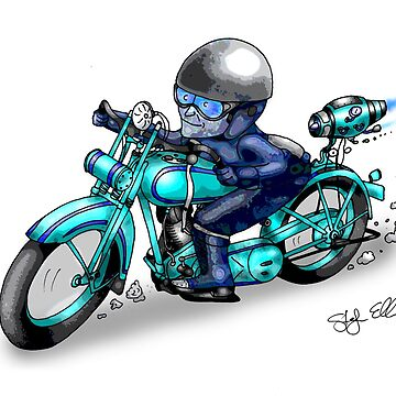 MOTORCYCLE HARLEY STYLE by squigglemonkey