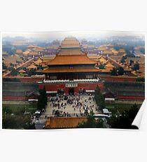 Forbidden City - Beijing Poster