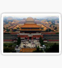 Forbidden City - Beijing Sticker