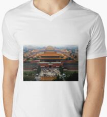 Forbidden City - Beijing Men's V-Neck T-Shirt