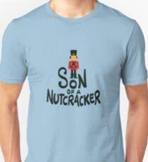 Son Of A Nutcracker Christmas Costume Pun Gift Slim Fit T-Shirt
