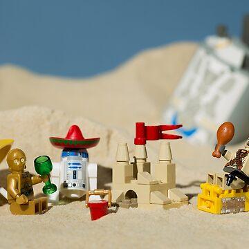 Lego Tatooine picnic by SadOldBiker