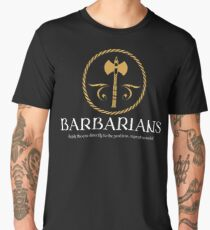 Barbarian Barbarians Dungeons and Dragons Inspired - D&D Men's Premium T-Shirt
