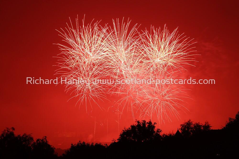 Beneath A Red Sky by Richard Hanley www.scotland-postcards.com