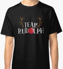 'Team Rudolph' Funny Christmas Rudolf Gift Classic T-Shirt