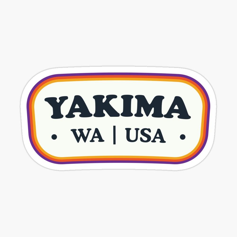 Yakima | Retro Badge Sticker