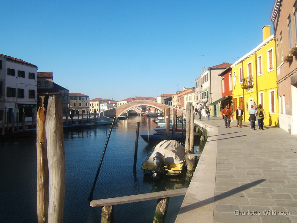 a sunny day in venice by Charlotte Wilkinson